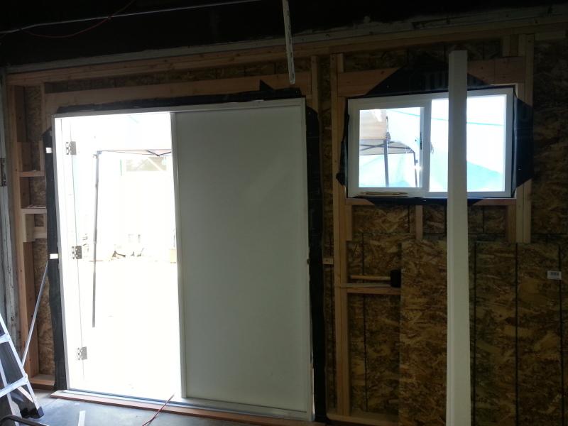Doors - seen from inside