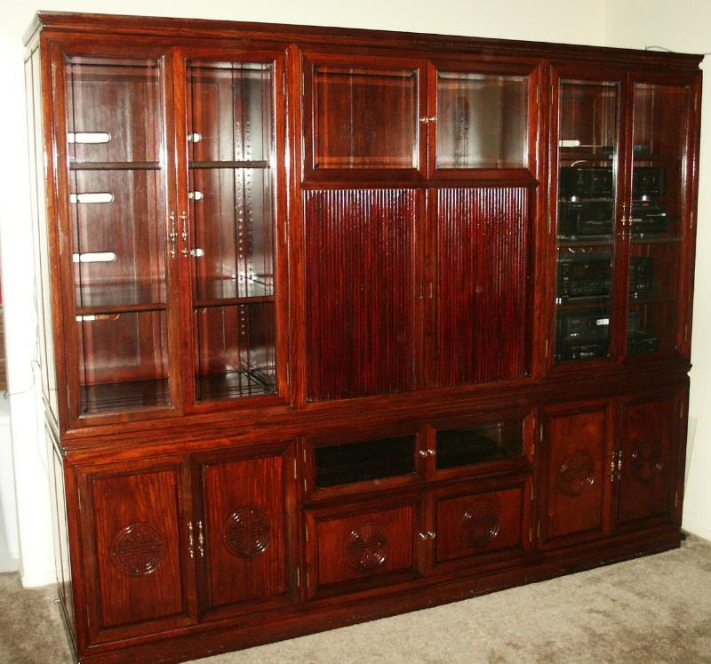 Back In 1989 When My Late Wife And I Were Stationed At Kadena Air Force  Base, Okinawa, We Decided To Purchase Some Very Nice Rosewood Furniture.